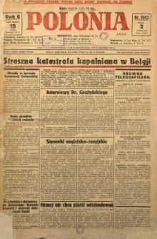 Polonia, 1929, R. 6, nr 1612