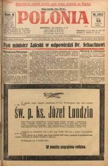 Polonia, 1929, R. 6, nr 1633
