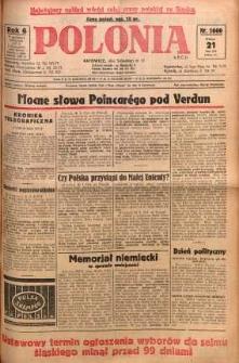Polonia, 1929, R. 6, nr 1660