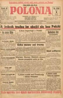 Polonia, 1929, R. 6, nr 1704