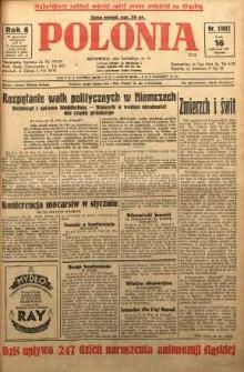 Polonia, 1929, R. 6, nr 1807
