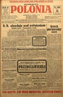 Polonia, 1929, R. 6, nr 1809