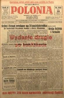 Polonia, 1929, R. 6, nr 1816