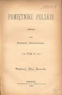 Pamiętniki polskie. T. 2