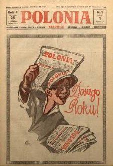 Polonia, 1927, R. 4, nr 1