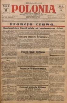 Polonia, 1927, R. 4, nr 7