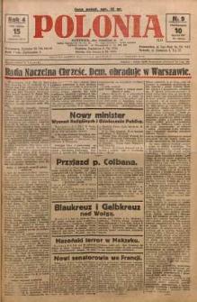 Polonia, 1927, R. 4, nr 9