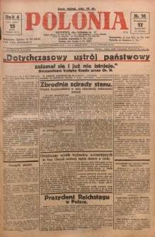 Polonia, 1927, R. 4, nr 16