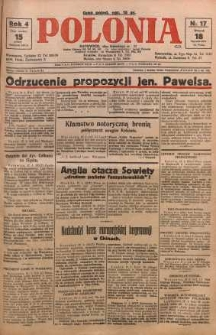 Polonia, 1927, R. 4, nr 17