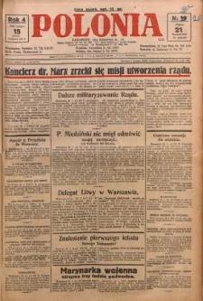 Polonia, 1927, R. 4, nr 20