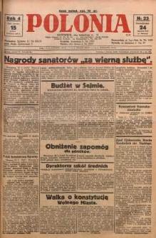 Polonia, 1927, R. 4, nr 23