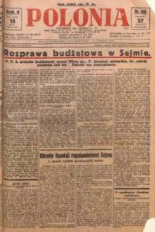 Polonia, 1927, R. 4, nr 26