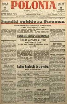 Polonia, 1926, R. 3, nr 18