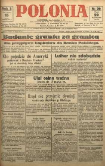 Polonia, 1926, R. 3, nr 29