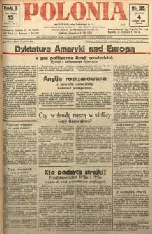 Polonia, 1926, R. 3, nr 35