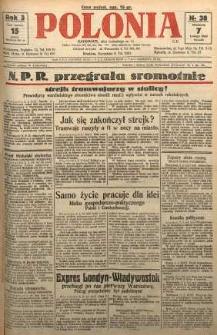 Polonia, 1926, R. 3, nr 38