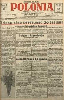 Polonia, 1926, R. 3, nr 72