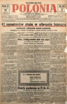Polonia, 1926, R. 3, nr 92
