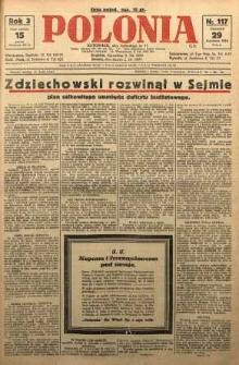 Polonia, 1926, R. 3, nr 117