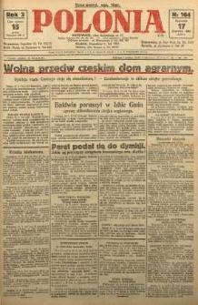 Polonia, 1926, R. 3, nr 164