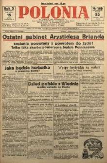 Polonia, 1926, R. 3, nr 169