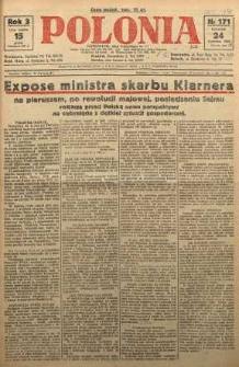 Polonia, 1926, R. 3, nr 171