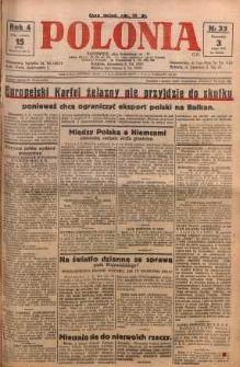 Polonia, 1927, R. 4, nr 33