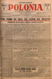 Polonia, 1927, R. 4, nr 35