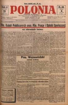 Polonia, 1927, R. 4, nr 38