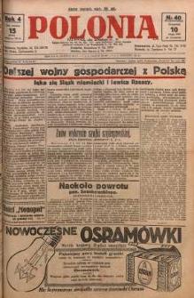 Polonia, 1927, R. 4, nr 40