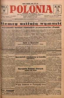 Polonia, 1927, R. 4, nr 41