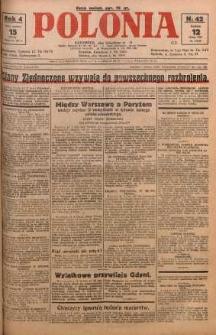 Polonia, 1927, R. 4, nr 42