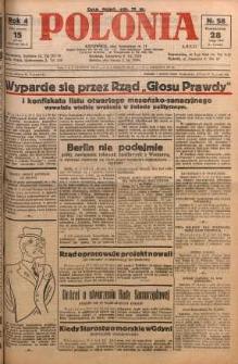 Polonia, 1927, R. 4, nr 58