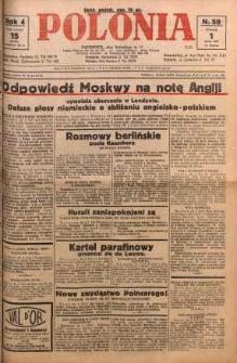 Polonia, 1927, R. 4, nr 59