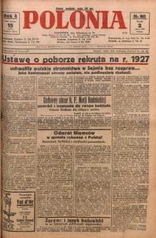 Polonia, 1927, R. 4, nr 60