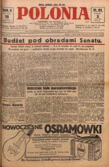 Polonia, 1927, R. 4, nr 61