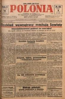 Polonia, 1927, R. 4, nr 63