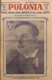 Polonia, 1927, R. 4, nr 78