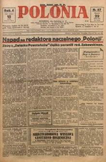 Polonia, 1927, R. 4, nr 87