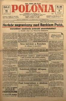 Polonia, 1927, R. 4, nr 93