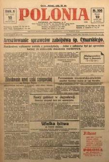 Polonia, 1927, R. 4, nr 106