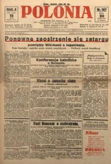 Polonia, 1927, R. 4, nr 107