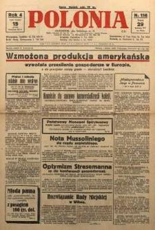 Polonia, 1927, R. 4, nr 116