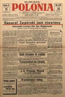 Polonia, 1927, R. 4, nr 117