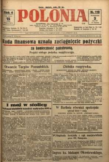 Polonia, 1927, R. 4, nr 119