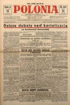 Polonia, 1927, R. 4, nr 131