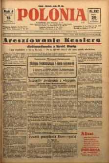Polonia, 1927, R. 4, nr 137