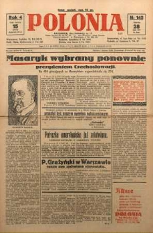 Polonia, 1927, R. 4, nr 145
