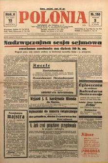 Polonia, 1927, R. 4, nr 150