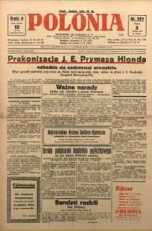 Polonia, 1927, R. 4, nr 151